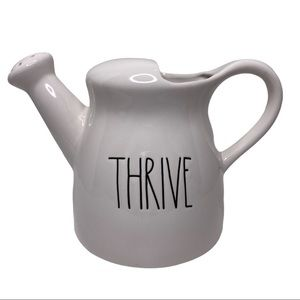 Rae Dunn Thrive White Watering Can
